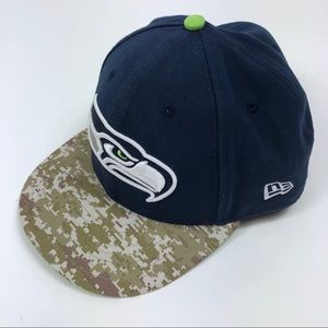New ERA Seattle Seahawks Cap 59Fifty